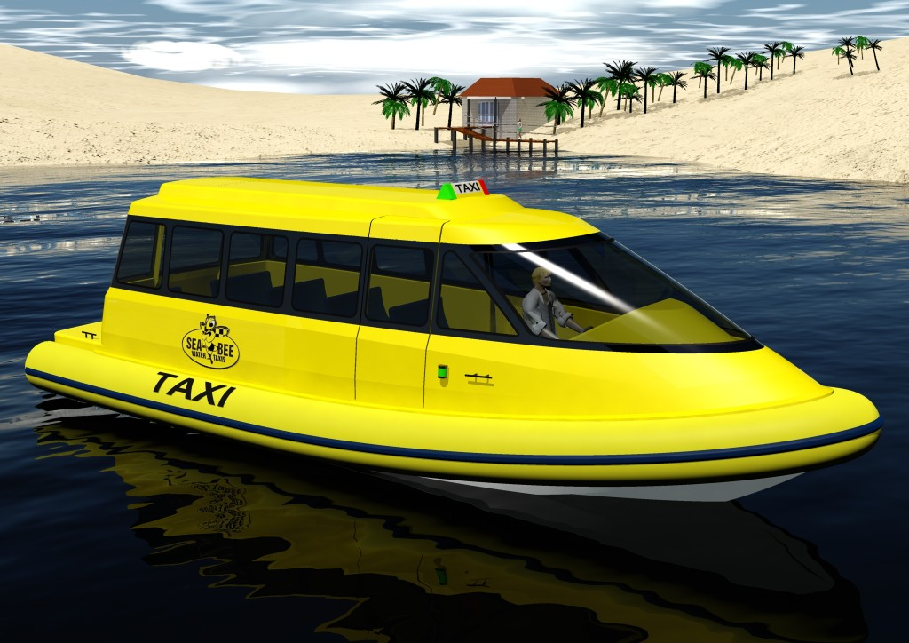 On Tuesday, the City Council considered Mayor Rush Hill's initiative to evaluate the idea of a water taxi in the harbor. Hill used this photo as an example during his presentation and announcement of the idea at the annual Mayor's Dinner on Feb. 7.  — Courtesy City of Newport Beach.