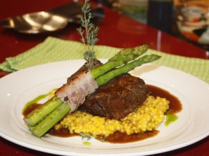 A Culinary Creation from Chef Yvon Goetz