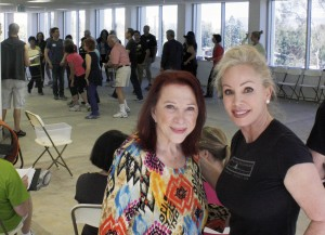 CHOC Follies founder Gloria Zigner and cast member Pamela Roossin