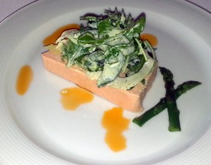 Salmon Mousse at Cafe Jardin