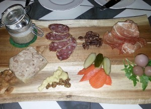 Charcuterie plate at Provenance
