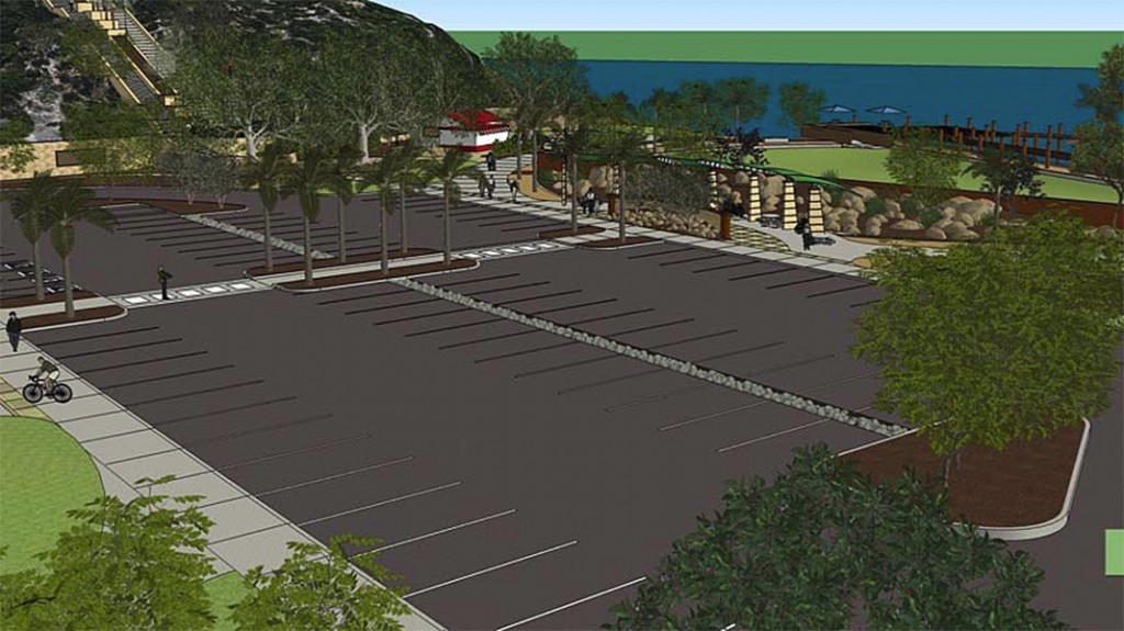 An artist's rendering of one possible version of Lower Castaways. — Photo courtesy city of Newport Beach
