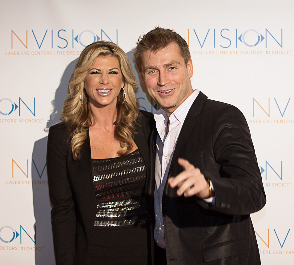Real Housewife of OC's Alexis Bellino with musician Phil Thompson — Photo by Cheryl Pellerin Photography