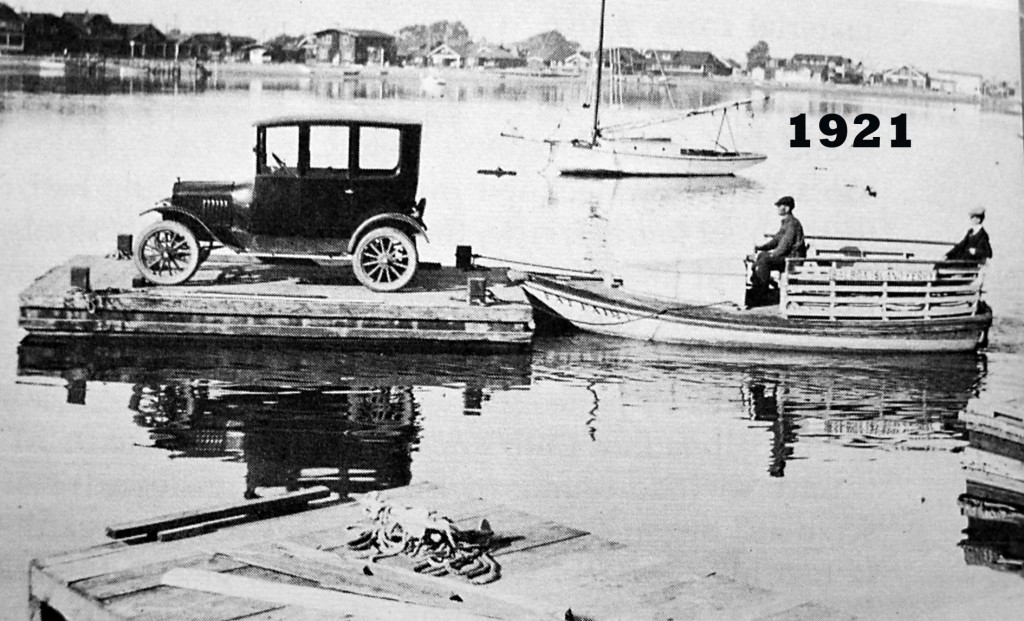 Historic photo of balboa ferry