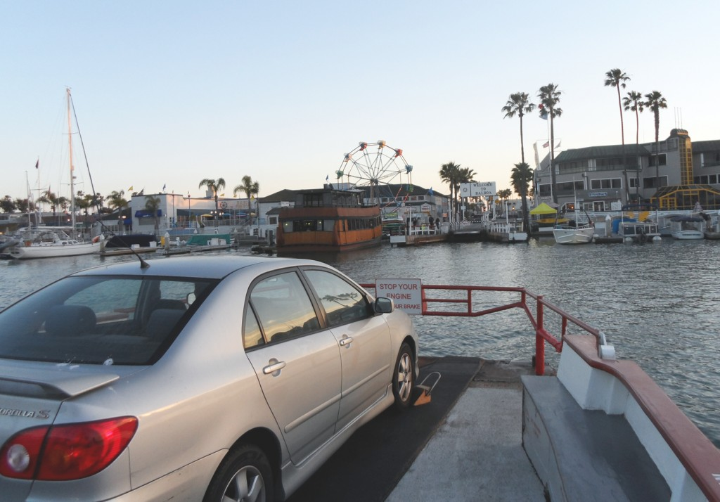 Riding the balboa ferry