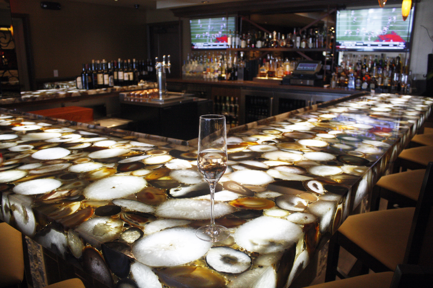 Bar Top Made Of Agate That S Mined In Madagascar