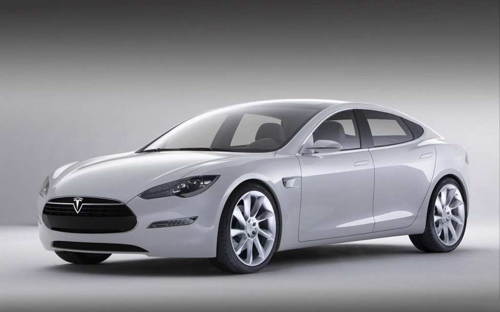 A 2013 Tesla Model S — Photo courtesy Tesla