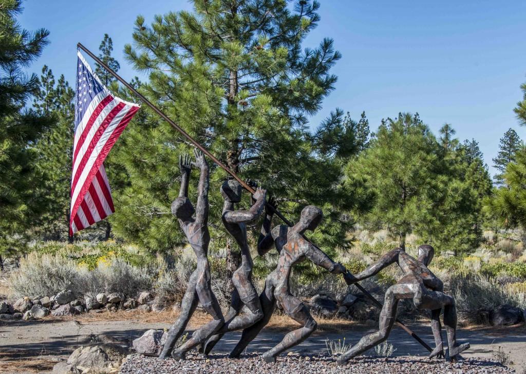 Living Memorial Sculpture Garden_Weed CA-3