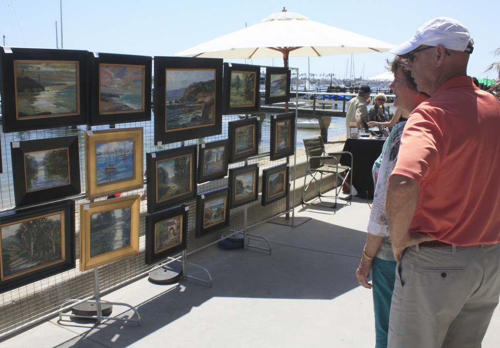 The 20th annual Balboa Island Artwalk is this weekend.