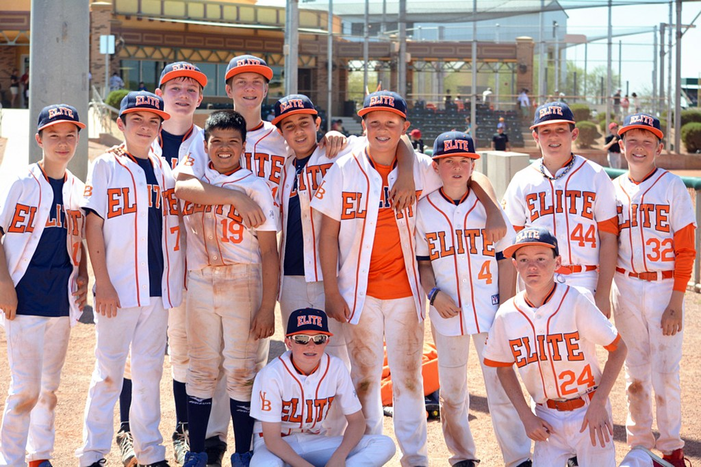 Newport Beach Elite Baseball team. — Photo courtesy Newport Beach Elite Baseball