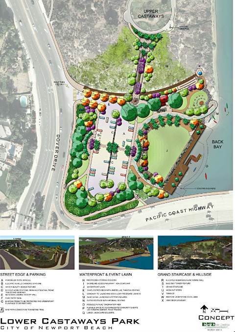 Lower Castaways proposed project