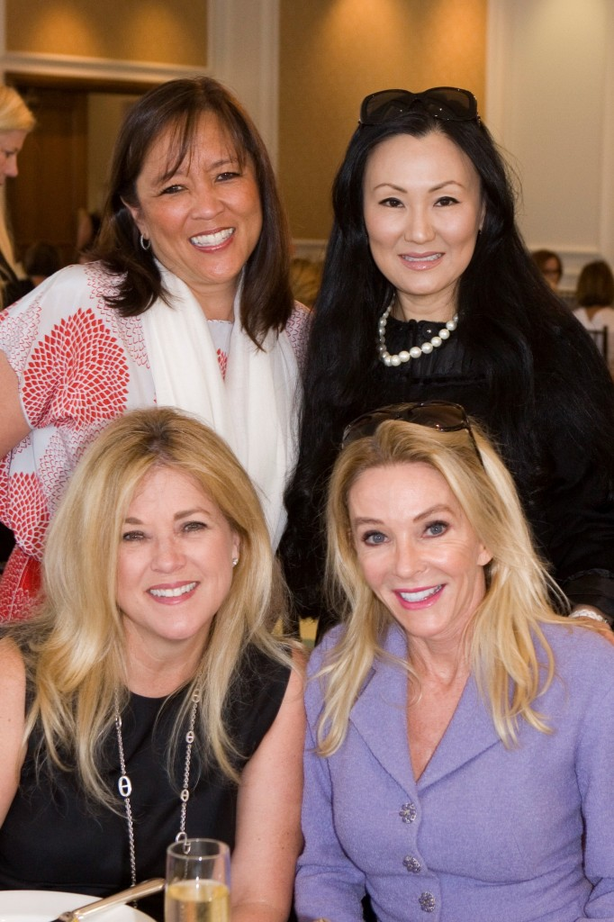 (bottom) Alison Cotress, Jany Davenport, (top) Soogie Kang, Judy Chang