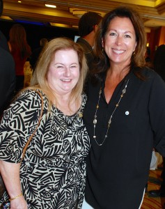 Anne MacPherson, president of The Joe MacPherson Foundation and vice president of the board of directors for the Boys & Girls Club of Santa Ana, and Shannon Tucker, board president for the club.