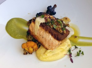 """Ces Soirees-la"" Scottish salmon"