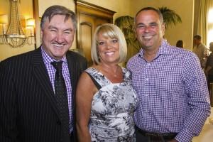 Richard Bayston, Brenda and Mike Zalke