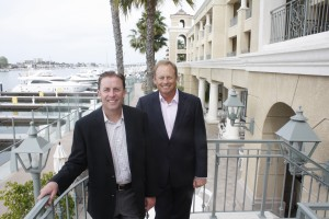 Todd Pickup, CEO, International Bay Clubs, LLC, and Kevin Martin, President, International Bay Clubs, LLC, owners and co-managers of Balboa Bay Resort.