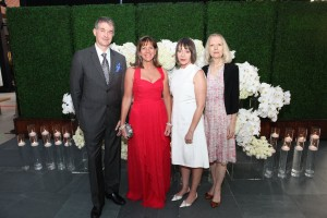 Chief Curator Dan Cameron, Christine Buck, Diana Thater, Lynne Cooke