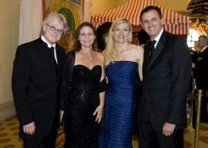 Music Director of the Pacific Symphony Carl St. Clair, Susan St. Clair, Michele Forsyte, and President & CEO of the Pacific Symphony John Forsyte