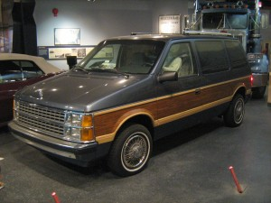 Dodge Caravan at Smithsonian
