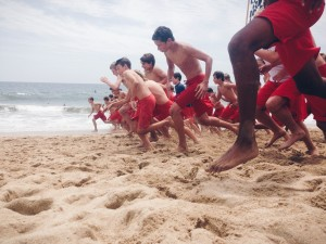 Kids take to the beach this summer for the Newport Beach Junior Lifeguard program.