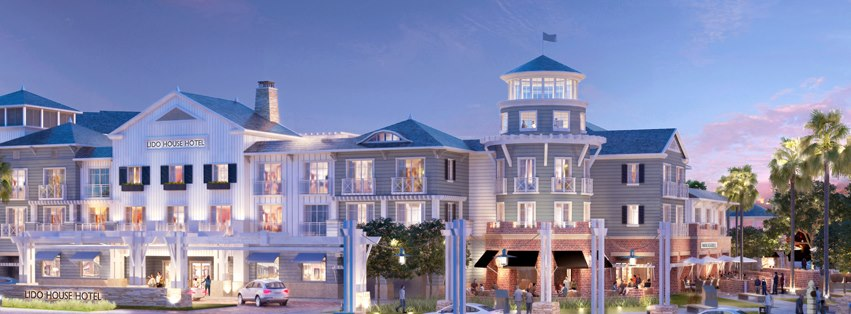 An artist's rendering of Lido House Hotel. — Courtesy Lido House Hotel