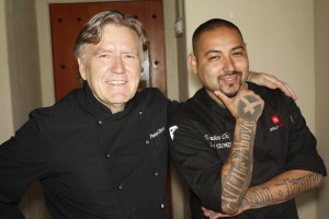 Chef Pascal Olhats and Chef Chris Tzorin