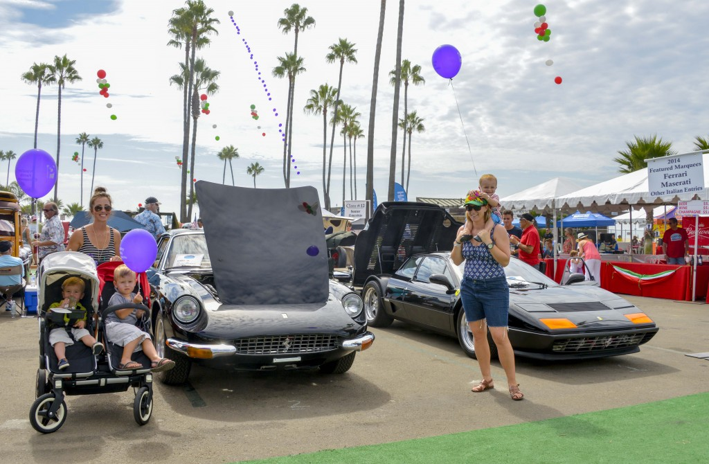 Coastline Car Classic is a family event