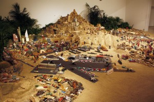 """A Tale of Two Cities"" by Chris Burden"