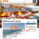 "Biz Buzz: ""Dine Newport Beach"" Venture Launched"