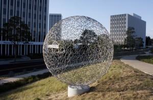 Sphere 112 (2014) by Ivan McLean