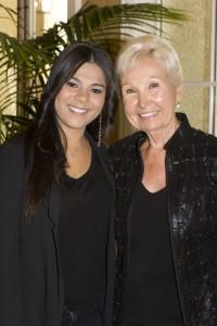 Shyima Hall and Karen Meguiar.