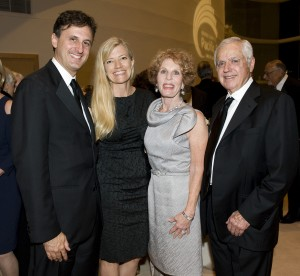 President of the Pacific Symphony, John Forsyte, Michele Forsyte, with Concert Sponsors Ellie and Mike Gordon