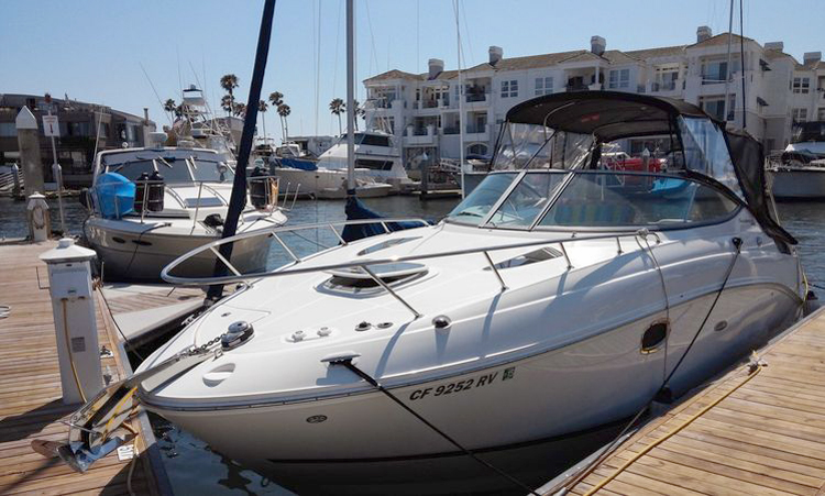 Boats for rent via GetMyBoat.com