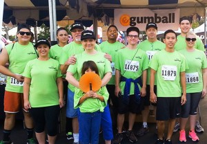 Team from eGumball in Irvine