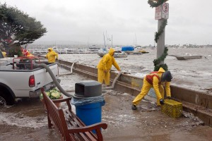 Balboa Island flooding, Dec. 2010