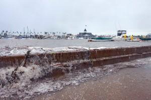 Balboa Island flooding, Dec. 2010