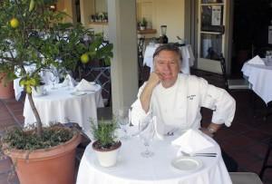 Chef Pascal Olhats at Café Jardin