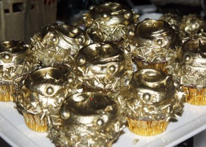 Golden Cupcakes from Casey's Cupcakes