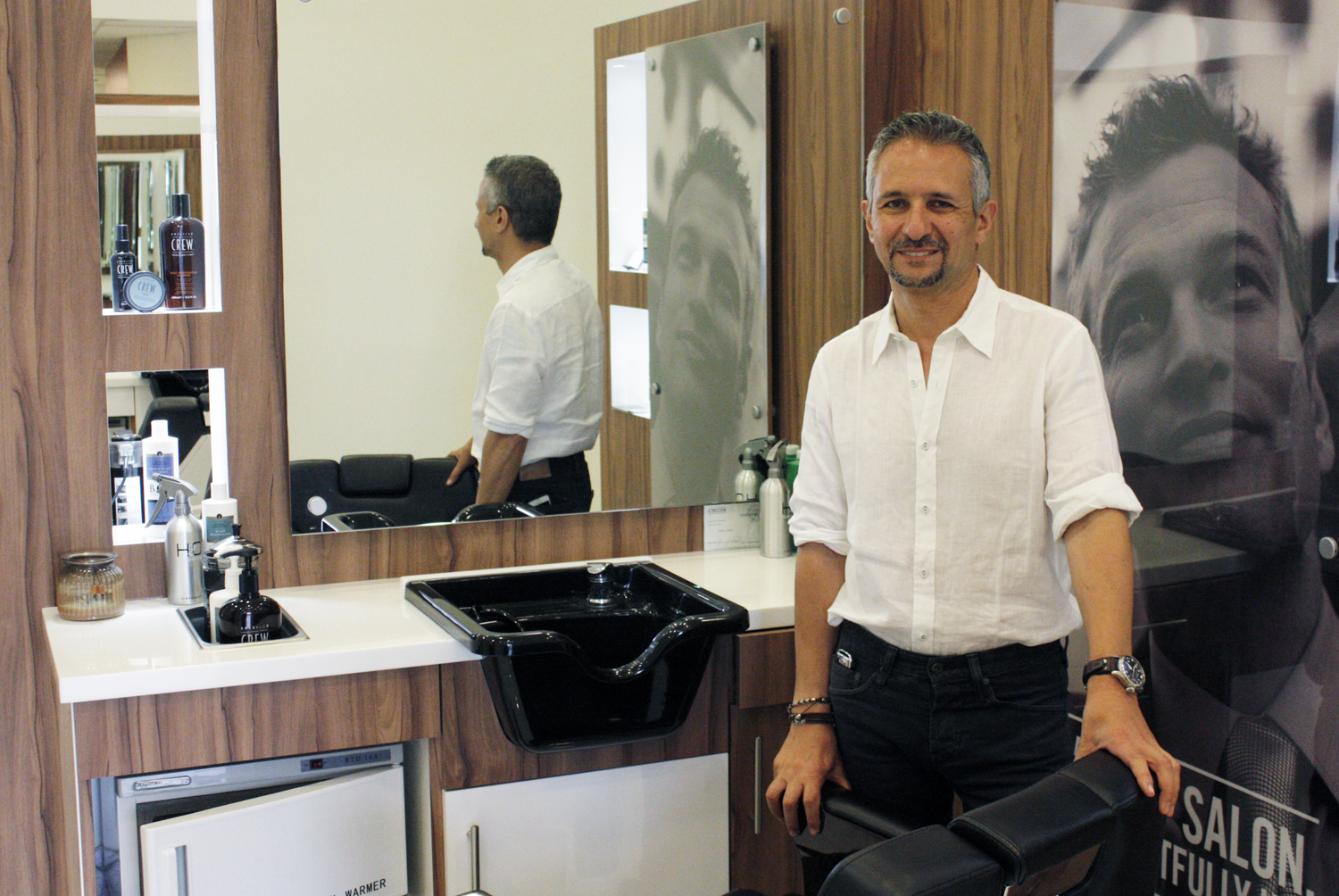 Newport local news coastal fashion 18 8 fine men s salon for A cut above grooming salon