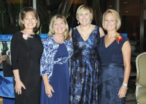 Celebrate Leadership Co-Chair Donna Giordano, Girl Scouts of Orange County Board Chair Julie Miller Phipps, Girl Scouts of Orange County CEO Nancy Nygren and Celebrate Leadership Co-Chair Shannon Kennedy