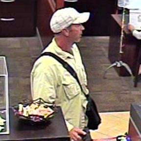 The robbery suspect — Courtesy of the Newport Beach Police Department ©