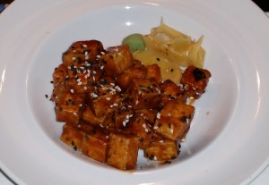 Barbecued tofu at Babette's