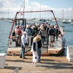 Commissioners, Public Tour the Harbor Together