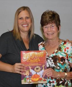 Columnist Edie Crabtree and author Margo Sorenson