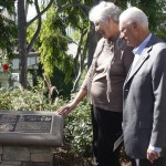 Communities: : Rex Brandt Plaque Dedication at Goldenrod Footbridge