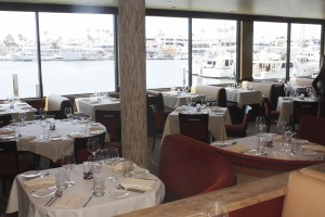 The Winery offers harbor views from every table