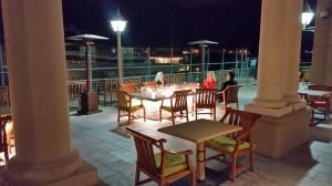A&O patio at Balboa Bay Resort