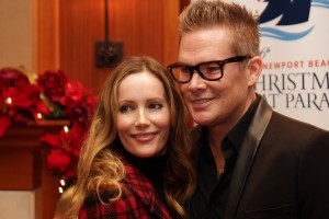 Newport natives actress Leslie Mann and singer/actor Mark McGrath.