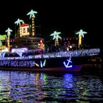 Full Speed Ahead for Christmas Boat Parade