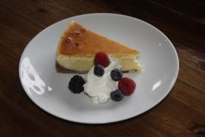 Cheesecake at Sliding Door